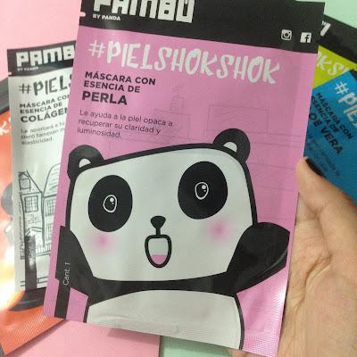 Mascarillas by Pambú - #PielShokShok (Panda Belleza Coreana)