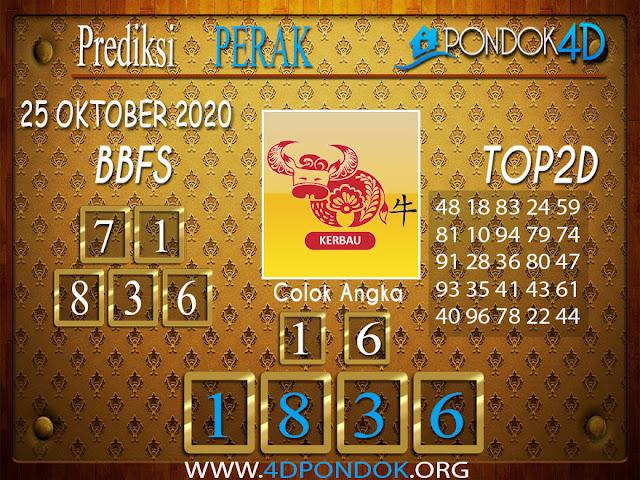 Prediksi Togel PERAK PONDOK4D 25 OKTOBER 2020
