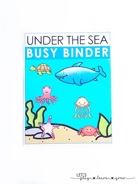 Ocean Busy Binder