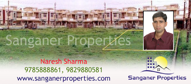 JDA Approved Residential Plot in Sanganer