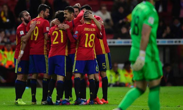 España 4-1 Israel