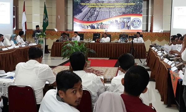 Untuk Percepatan Pembangunan Ali Mukhni Minta Kepala SOPD Perkuat Koordiansi