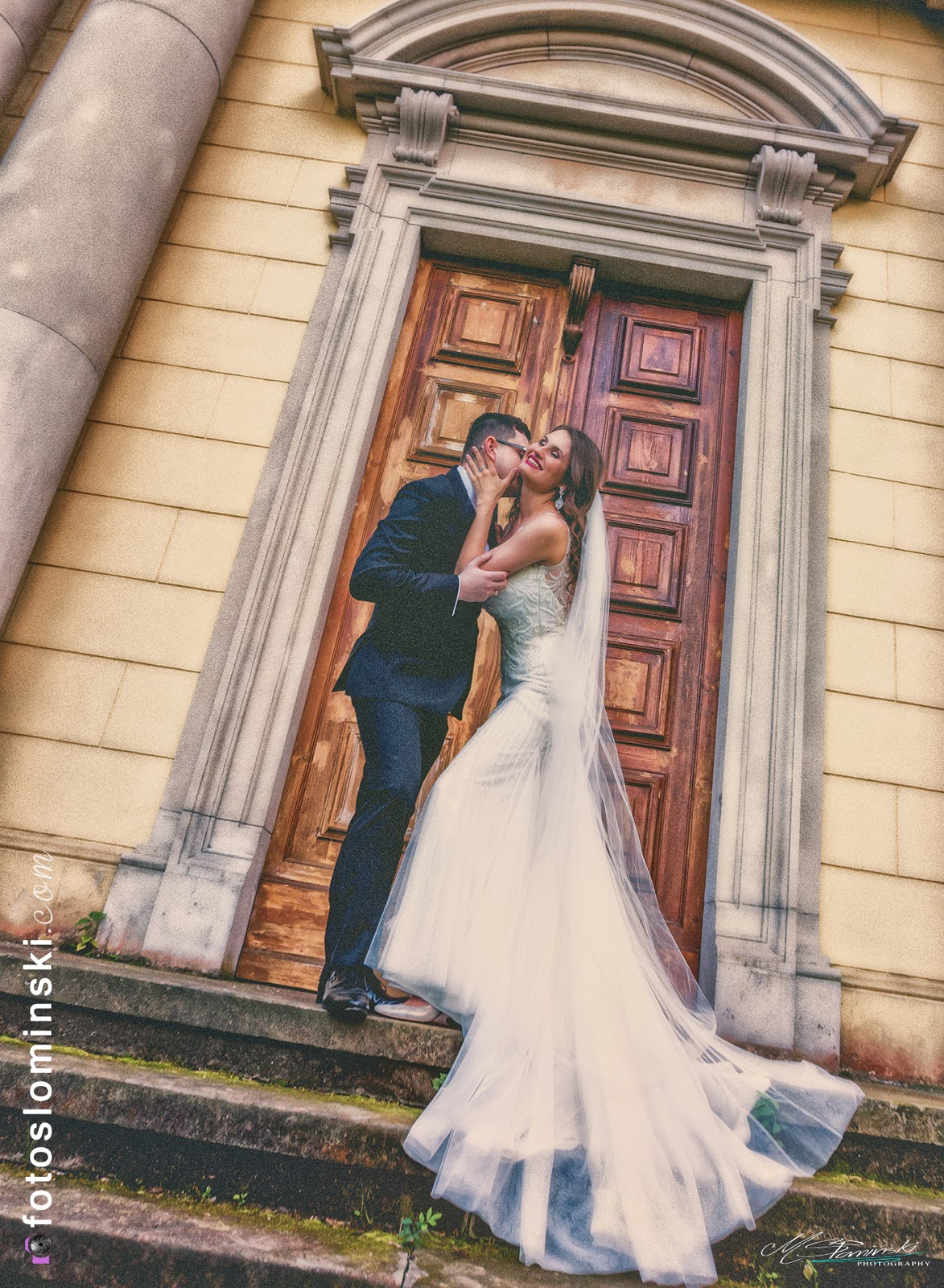 Wyjątkowo pięknie i romantycznie - Fotografia ślubna M.Słomiński