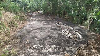 Pembangunan Cor Jalan Dusun Citelu RT 03/RW 01 Blok Tanjakan Acim Tahun Anggaran 2020