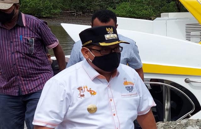 Muhammad Musa'ad Dorong Kampanye Gerakkan Pakai Masker di Waropen