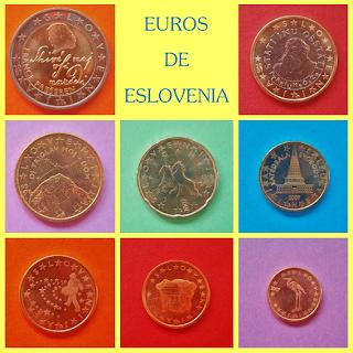 Diseños Euros de Eslovenia