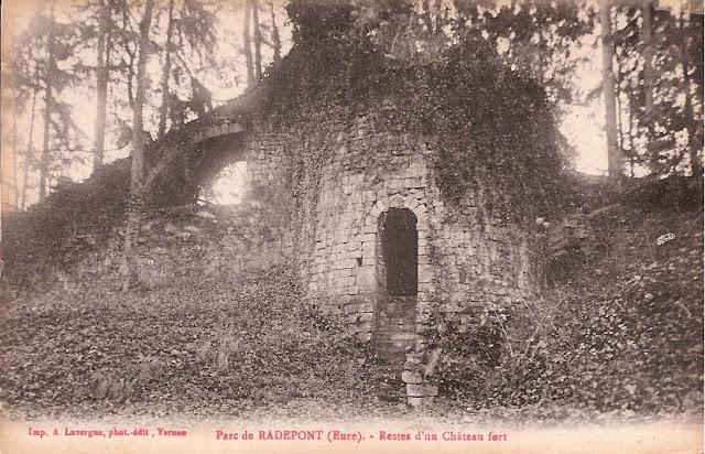 1881 et 1887 : des botanistes elbeuviens dans la vallée de l'Andelle - Château de Radepont