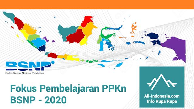 Fokus Pembelajaran PPKn BSNP - 2020
