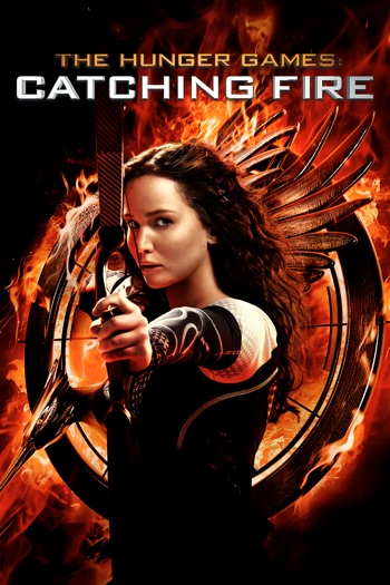 The Hunger Games: Catching Fire 2013 BRRip 300MB 480p Dual Audio Hindi