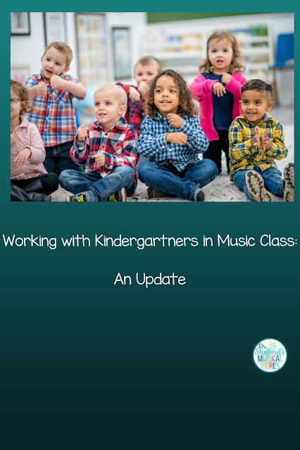 Working with Kindergartners in Music