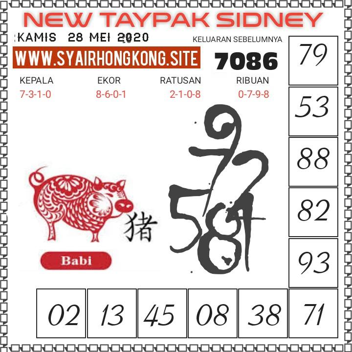 Prediksi Syair Sydney 28 Mei 2020