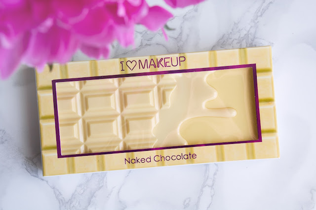 палетка теней Makeup Revolution Naked Chocolate