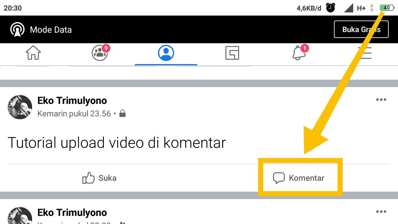 cara upload video di facebook creator