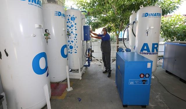 Hospital de Santa Quitéria será beneficiado com usina de oxigênio; Sesa e BNDES buscam parcerias para instalação