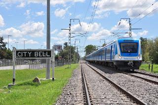 El tren eléctrico pasó las pruebas y la llegada a City Bell es inminente