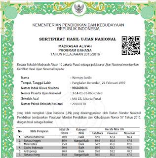 Format Ijazah dan SHUN Tahun 2016, SD/SDLB, SMP,SMA,SMK, PAKET dari Balitbang Kemdikbud