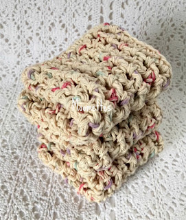 Handmade Kitchen Cotton Washcloths