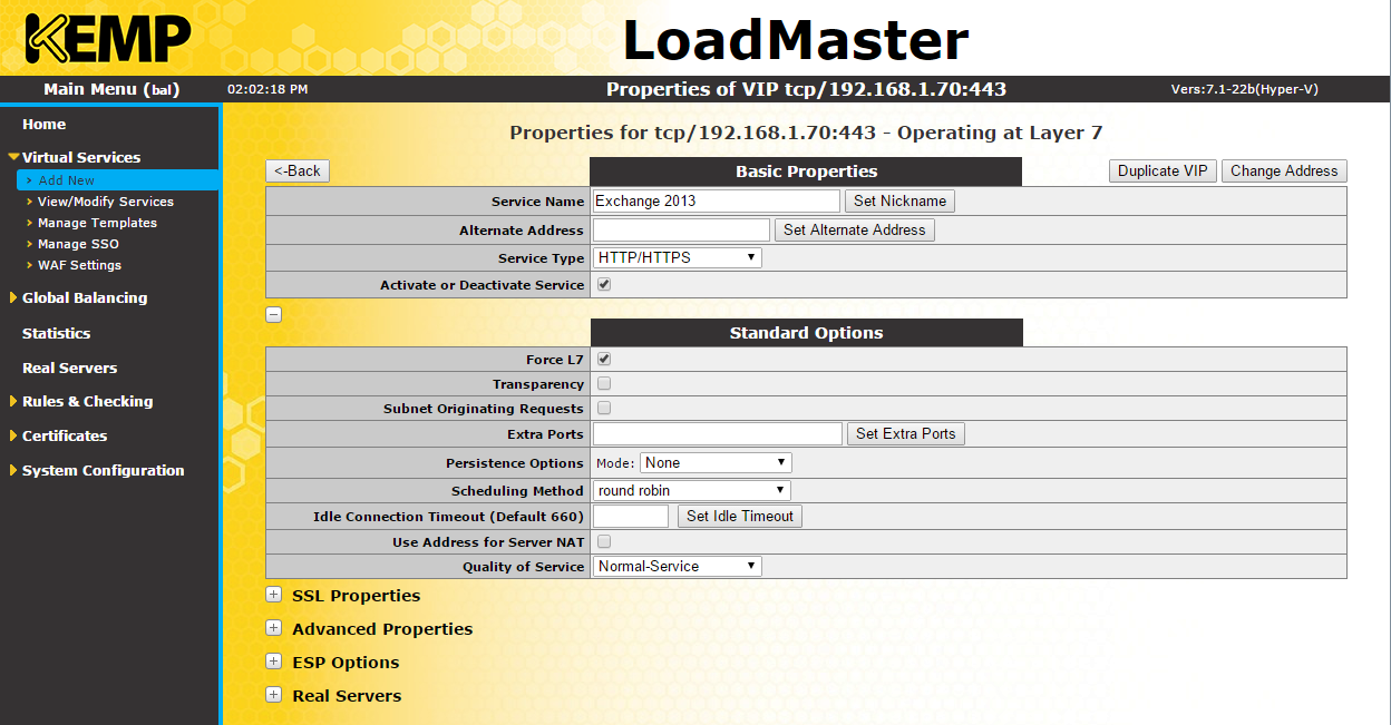 The EXPTA {blog}: KEMP Series: How to Configure an L4 KEMP
