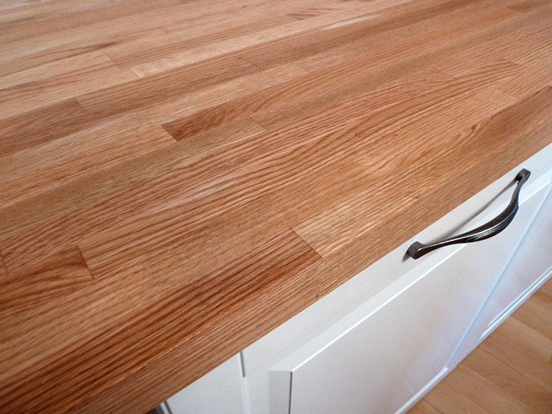 arbeitsplatte küchenarbeitsplatte massivholz roteiche | Wohnidee ...