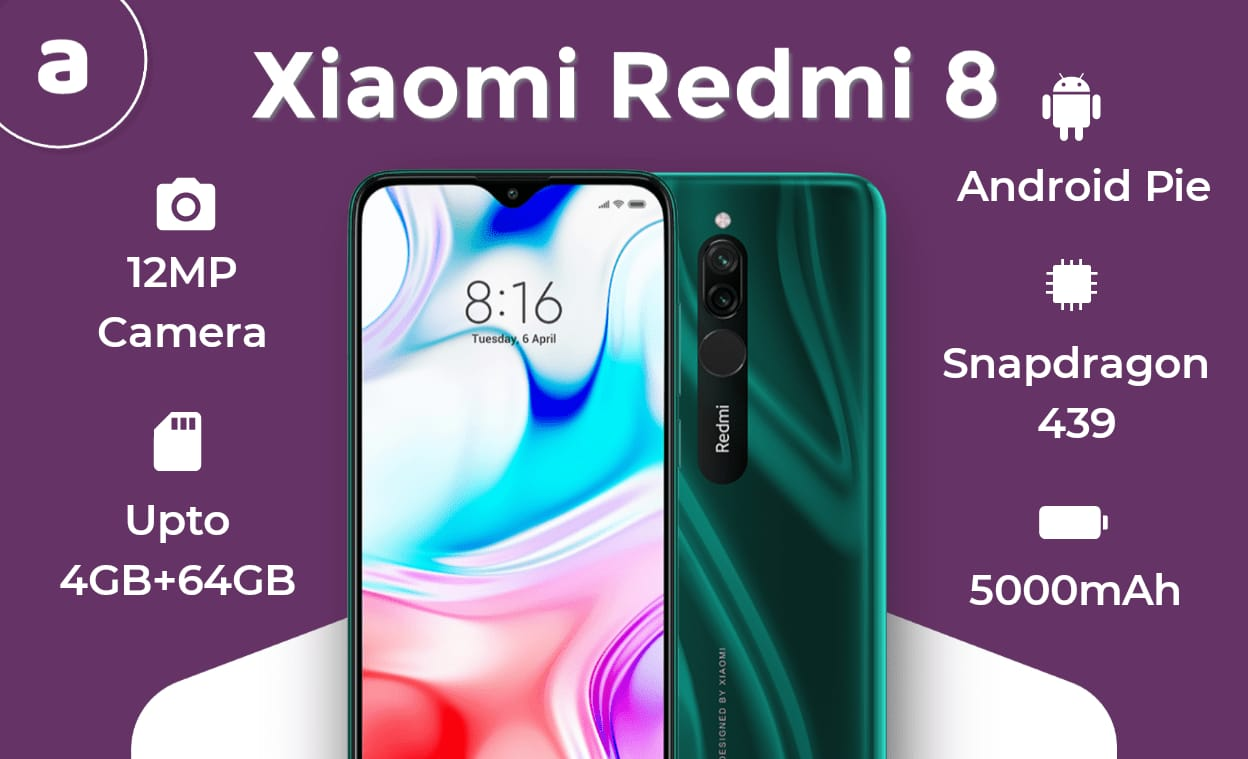 Redmi 8 Features