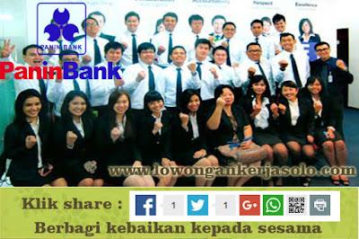Info lowongan kerja PANIN BANK solo terbaru 2016