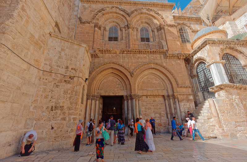 church of the holy sepulchre ladder