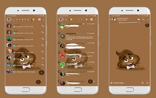 Cute 8 Theme For YOWhatsApp & Fouad WhatsApp By Leidiane
