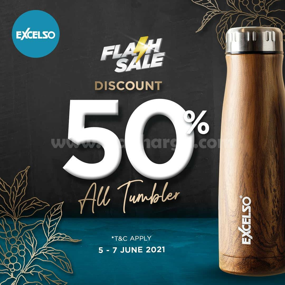 Promo Excelso Flash Sale 6.6 Discount 50% Off All Tumbler