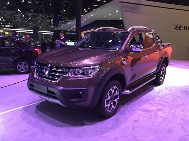 Nissan Frontier Salao-renault-alaskan