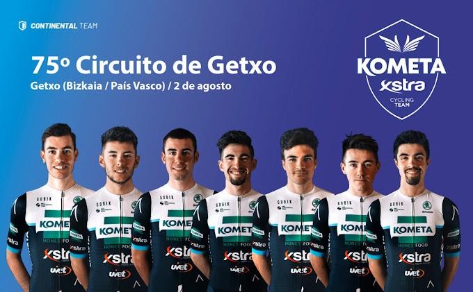 El Kometa - Xstra Cycling correrá el Circuito de Getxo con el bloque de Burgos