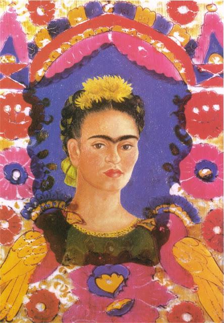 Фрида Кало - Автопортрет - Рамка. 1938
