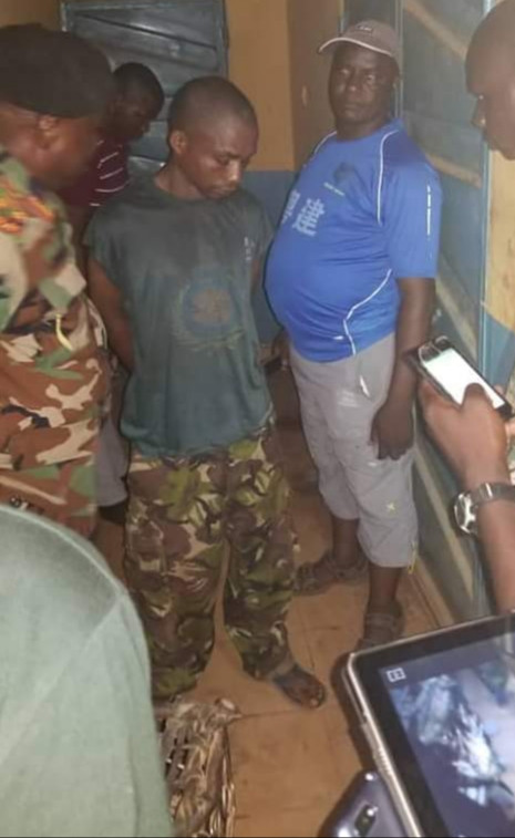 Graphic Photo: Army officer killed by his bodyguard