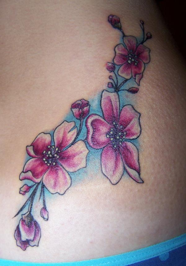 Cherry Blossom Tattoo Designs: Cherry Blossom Tattoo Designs For Women