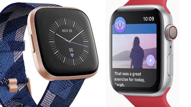 Fitbit Watch vs Apple Watch