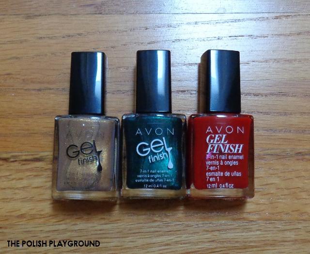 Avon Gel Finish 7 in 1 Nail Enamel
