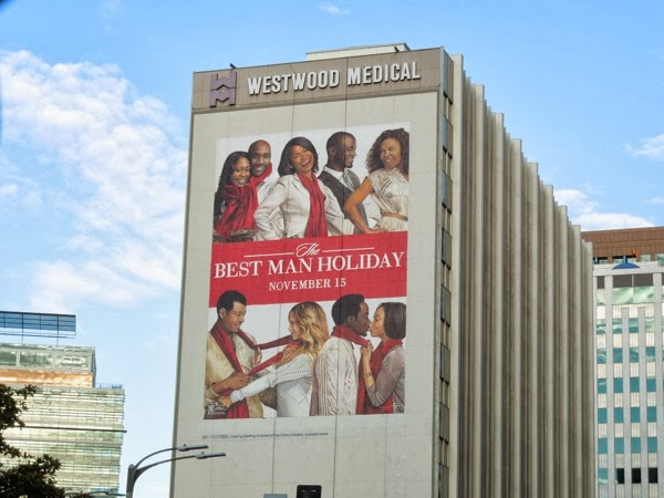 Best Man Holiday giant billboard