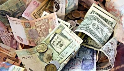 أسعار العملات الأجنبية والعربية  مقابل الجنية بالبنوك المصرية والأجنبية اليوم السبت