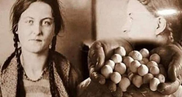 Поразительная история о том, как в заключенных женщин бросали необычные камни