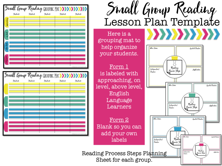 Lesson PlanTemplate With Video Tutorial Principal Principles - Small group reading lesson plan template