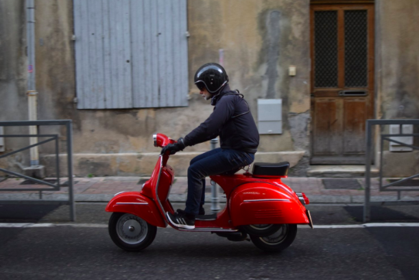 Driving License for 50 CC scooter