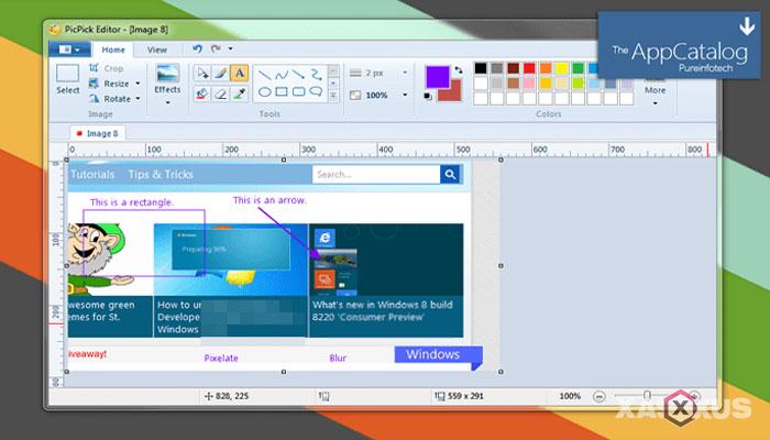 Cara screenshot di laptop atau PC dengan PicPick