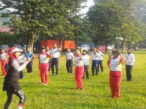 Jalin Silaturahmi, Dewan Pengurus Korpri TNI Gelar Halal Bihalal dan Olahraga Bersama