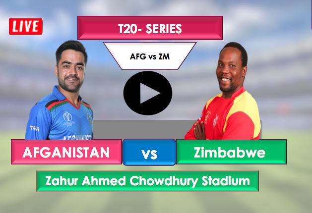 Afghanistan vs Zimbabwe T20 : Watch Live Cricket Streaming online