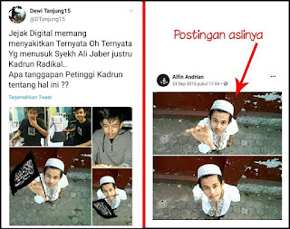 Politikus PDIP, Dewi Tanjung Ikut Sebar Hoax Penusuk Syekh Ali Jaber HTI, Kok Tidak Ditangkap?