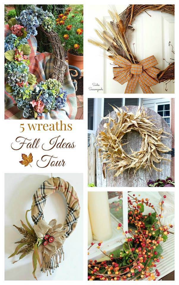 Fall Ideas Tour 2016 Wreaths