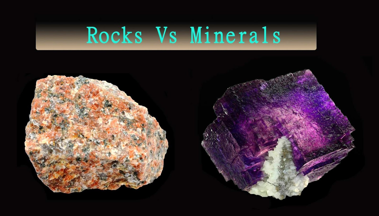 Rocks Vs Minerals Same Or Different