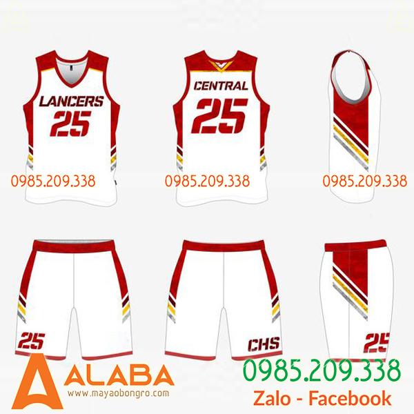 Quần áo bóng rổ Đà Nẵng cho bé
