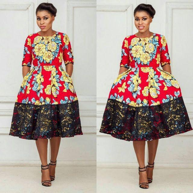 Simple Ankara Short Gown Styles for Cute Ladies - DeZango Fashion Zone
