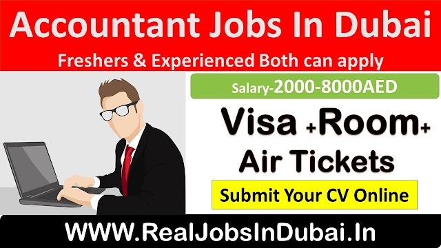 Accountant Jobs In Dubai , Abu Dhab , Al Ain & Sharjah - UAE