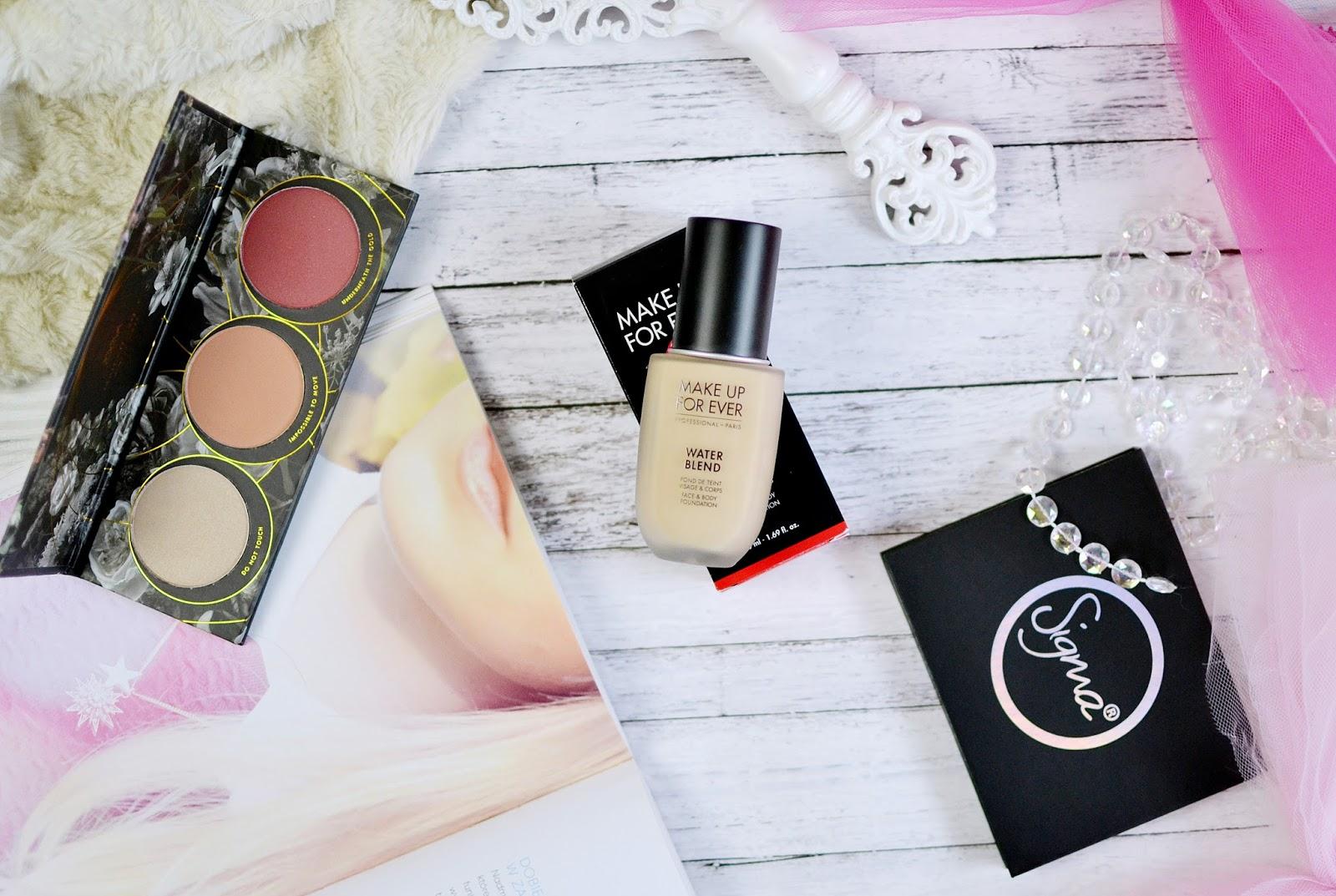 Recenzja podkładu Makeup Forever Water Blend